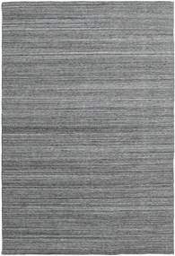 Petra - Dark_Mix Rug 200X300 Authentic  Modern Handwoven Dark Grey/Light Grey ( India)