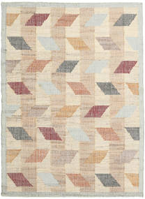 Flakes Rug 160X230 Authentic Modern Handwoven Beige/Light Grey ( India)