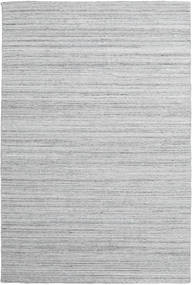 Petra - Light_Mix Rug 200X300 Authentic  Modern Handwoven Light Grey/White/Creme ( India)