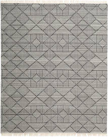 Mauri Rug 250X300 Authentic  Modern Handwoven Light Grey/Dark Grey Large ( India)