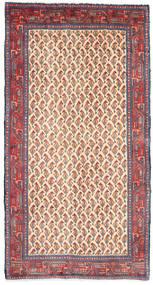 Sarough Teppe 68X129 Ekte Orientalsk Håndknyttet Rosa/Beige (Ull, Persia/Iran)