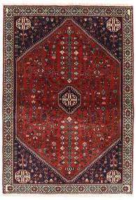 Abadeh Covor 107X151 Orientale Lucrat Manual Roșu-Închis/Negru (Lână, Persia/Iran)