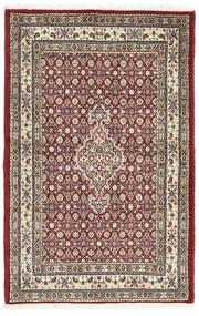 Moud Matto 78X119 Itämainen Käsinsolmittu Ruskea/Tummanruskea (Villa/Silkki, Persia/Iran)