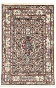 Moud Alfombra 77X117 Oriental Hecha A Mano Marrón Claro/Beige (Lana/Seda, Persia/Irán)