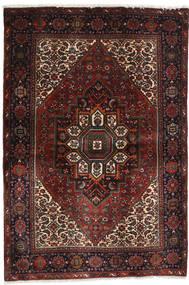 Gholtogh Teppe 104X152 Ekte Orientalsk Håndknyttet Svart/Mørk Rød (Ull, Persia/Iran)