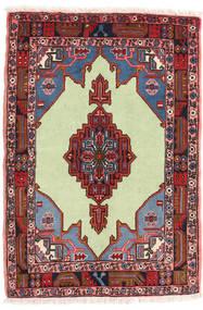 Koliai Matto 68X99 Itämainen Käsinsolmittu Tummanruskea/Vaaleanvihreä (Villa, Persia/Iran)