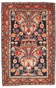 Ardebil Rug 67X103 Authentic  Oriental Handknotted Dark Green/Beige (Wool, Persia/Iran)