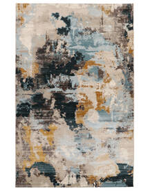 Arty Mind Rug 140X200 Modern Dark Grey/Light Brown/Light Grey ( Turkey)