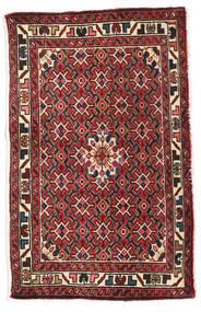 Ardebil Matto 60X94 Itämainen Käsinsolmittu Musta/Tummanpunainen (Villa, Persia/Iran)