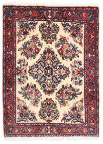 Sarouk Rug 64X85 Authentic  Oriental Handknotted Purple/Beige (Wool, Persia/Iran)