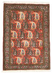 Ardebil Matto 68X95 Itämainen Käsinsolmittu Ruskea/Tummanruskea (Villa, Persia/Iran)