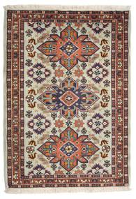Ardebil Matto 74X104 Itämainen Käsinsolmittu Tummanvioletti/Vaaleanruskea (Villa, Persia/Iran)