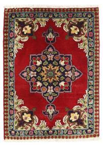 Tabriz Matto 60X82 Itämainen Käsinsolmittu Tummanpunainen/Tummanvioletti (Villa, Persia/Iran)