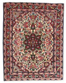 Hamadan Vloerkleed 65X86 Echt Oosters Handgeknoopt Donkerbruin/Donkerbeige (Wol, Perzië/Iran)