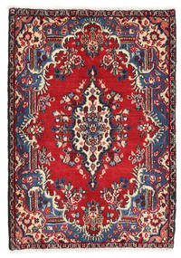 Hamadan Shahrbaf Rug 68X97 Authentic  Oriental Handknotted Dark Purple/Dark Red (Wool, Persia/Iran)