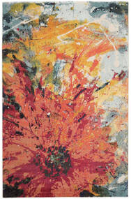 Flora Rug 200X300 Modern Orange/Crimson Red ( Turkey)