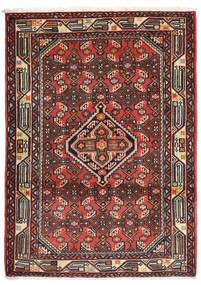 Asadabad Rug 84X118 Authentic  Oriental Handknotted Brown/Dark Red (Wool, Persia/Iran)