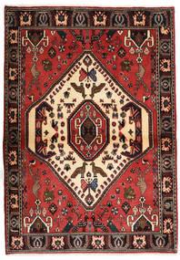 Abadeh Dywan 105X150 Orientalny Tkany Ręcznie Ciemnoczerwony/Rdzawy/Czerwony (Wełna, Persja/Iran)
