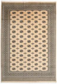 Pakistański Bucharski 2Ply Dywan 241X348 Orientalny Tkany Ręcznie Jasnobrązowy/Ciemnobeżowy (Wełna, Pakistan)
