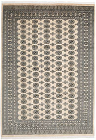Pakistan Bokhara 2Ply Rug 241X343 Authentic  Oriental Handknotted Dark Grey/Light Grey/Beige (Wool, Pakistan)