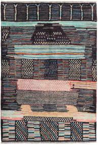 Barchi/Moroccan Berber - Afganistan Tapis 120X175 Moderne Fait Main Gris Foncé/Bleu Foncé (Laine, Afghanistan)