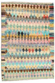 Barchi/Moroccan Berber - Afganistan Tapis 121X174 Moderne Fait Main Beige Foncé/Marron Clair (Laine, Afghanistan)