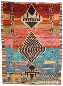Barchi/Moroccan Berber - Afganistan Alfombra 124X164 Moderna Hecha A Mano Marrón Claro/Marrón (Lana, Afganistán)