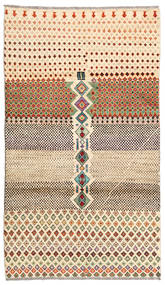 Barchi/Moroccan Berber - Afganistan Rug 111X193 Authentic  Modern Handknotted Brown/Light Brown (Wool, Afghanistan)