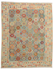Kilim Afghan Old Style Rug 280X359 Authentic  Oriental Handwoven Large (Wool, Afghanistan)