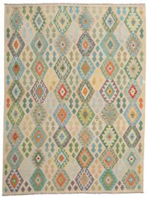 Kilim Afgán Old Style Szőnyeg 254X337 Keleti Kézi Szövésű Világosbarna/Világosszürke Nagy (Gyapjú, Afganisztán)