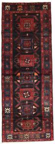 Saveh Rug 105X275 Authentic  Oriental Handknotted Hallway Runner  Dark Red/Brown (Wool, Persia/Iran)