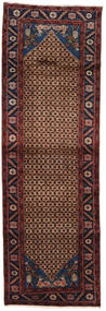 Koliai Rug 100X300 Authentic  Oriental Handknotted Hallway Runner  Dark Red/Brown (Wool, Persia/Iran)