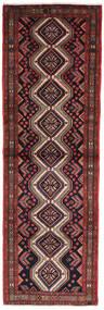 Asadabad Tapis 103X331 D'orient Fait Main Tapis Couloir Vert Foncé/Rouge Foncé (Laine, Perse/Iran)