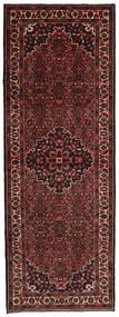 Hosseinabad Covor 114X320 Orientale Lucrat Manual Roșu-Închis (Lână, Persia/Iran)