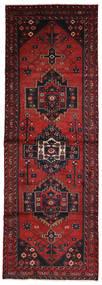 ハマダン 絨毯 96X280 オリエンタル 手織り 廊下 カーペット 深紅色の (ウール, ペルシャ/イラン)