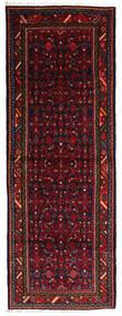 Hosseinabad Covor 108X304 Orientale Lucrat Manual Verde Închis/Roșu-Închis (Lână, Persia/Iran)