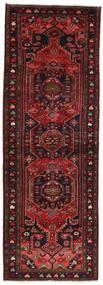 Hamadan Covor 103X296 Orientale Lucrat Manual Roșu-Închis/Negru (Lână, Persia/Iran)