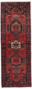 Hamadan Dywan 100X276 Orientalny Tkany Ręcznie Chodnik Ciemnoczerwony/Brązowy (Wełna, Persja/Iran)