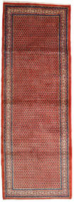 Sarough Mir Tapis 112X318 D'orient Fait Main Tapis Couloir Rouille/Rouge/Marron (Laine, Perse/Iran)