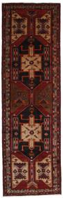Ardabil Alfombra 123X405 Oriental Hecha A Mano Rojo Oscuro (Lana, Persia/Irán)