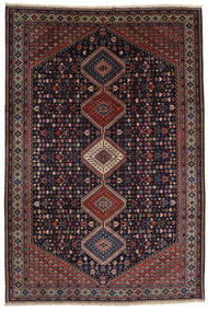 Yalameh Sherkat Farsh Alfombra 200X300 Oriental Hecha A Mano Rojo Oscuro (Lana, Persia/Irán)