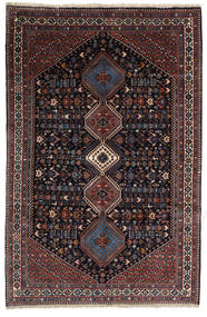 Yalameh Sherkat Farsh Rug 155X238 Authentic  Oriental Handknotted Dark Red/Dark Grey (Wool, Persia/Iran)