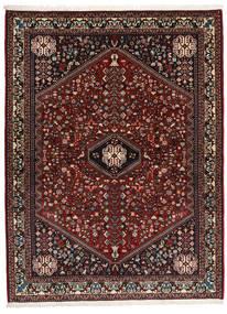 Abadeh Sherkat Farsh Tæppe 155X208 Ægte Orientalsk Håndknyttet Mørkerød/Mørkegrå (Uld, Persien/Iran)
