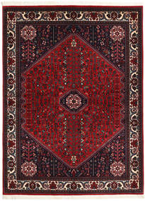Abadeh Sherkat Farsh Rug 154X202 Authentic  Oriental Handknotted Black/Dark Red (Wool, Persia/Iran)