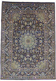 Mashad Rug 235X335 Authentic  Oriental Handknotted Light Grey/Dark Purple (Wool, Persia/Iran)