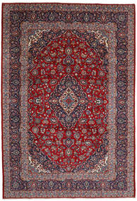 Keshan Matto 245X359 Itämainen Käsinsolmittu Tummanvioletti/Ruskea (Villa, Persia/Iran)