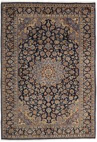Mashad Rug 246X358 Authentic  Oriental Handknotted Light Brown/Dark Green (Wool, Persia/Iran)