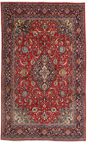 Mahal Rug 215X350 Authentic  Oriental Handknotted Brown/Dark Brown (Wool, Persia/Iran)