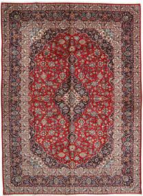 Keshan Rug 298X404 Authentic  Oriental Handknotted Dark Brown/Dark Red Large (Wool, Persia/Iran)
