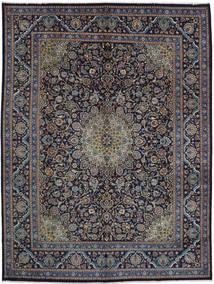 Mashad Matto 293X392 Itämainen Käsinsolmittu Vaaleanruskea/Tummanharmaa/Tummanvioletti Isot (Villa, Persia/Iran)